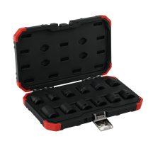 Erősített dugókulcs készlet 1/2'' 12 részes (GEDORE R63003012)
