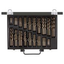 Fém csigafúró készlet hengerelt D 1-10 mm (170 részes) - (Gedore R93500170)