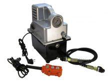 Egyszeres működésű elektromos hajtású tápegység ( rádió távirányítású mágnesszeleppel*)