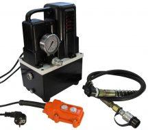 Egyszeres működésű elektromos hajtású tápegység ( mágnes szelep, vezetékes távvezérlővel )
