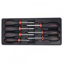 Torx csavarhúzó készlet, 7 részes, T10-40, 390x175x50mm (FIXMAN FX-F1.BT27)