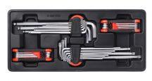 Imbuszkulcs készlet, 4 részes, 390x175x50mm (FIXMAN FX-F1.BT83)