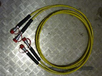 Használt Wren tömlőpár hidraulikus nyomatékkulcshoz