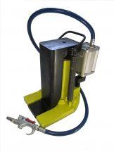 Sűrített levegő hajtású hidraulikus gépemelő (10 tonna)