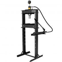Hidraulikus műhelyprés, beépített tápegységgel, nyomásmérő órával