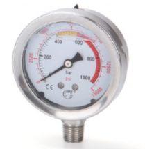 Hidraulikus nyomásmérő (800Bar, 63mm)