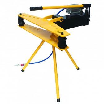 """Hidraulikus csőhajlító, beépített sűrített levegős és kézi tápegységgel, állványos (1/2"""" - 2"""" 21,3-60 mm)"""