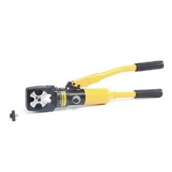 Hidraulikus kábelsaru prés automatikus nyomásszabályozó szeleppel (16 - 150 mm2)
