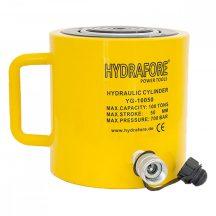 Egyszeres működésű általános hidraulikus munkahenger (100T, 50mm)