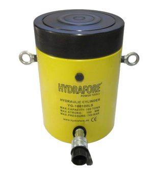 Egyszeres működésű biztosítóanyás hidraulikus munkahengerek (200T-1000T)