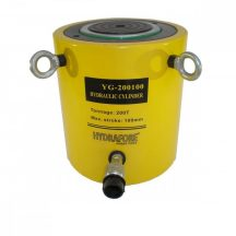 Egyszeres működésű általános hidraulikus munkahenger (200T, 100mm) YG-200100