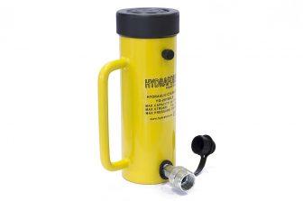 Egyszeres működésű biztosítóanyás hidraulikus munkahenger (20T, 150mm)