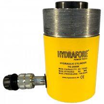 Egyszeres működésű, gallérmenetes, üreges hidraulikus munkahenger (20T, 50mm) (YG-2050KCT)