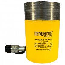 Egyszeres működésű általános gallérmenetes hidraulikus munkahenger (50T, 100mm) (YG-50100CT)