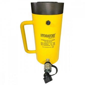 Egyszeres működésű biztosítóanyás hidraulikus munkahenger (50T, 150mm) (YG-50150LS)
