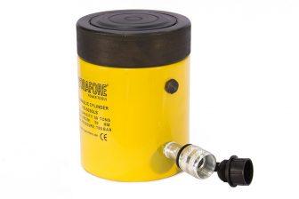 Egyszeres működésű biztosítóanyás hidraulikus munkahenger (50T, 50mm)