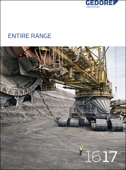 GEDORE Entire Range 2016/2017