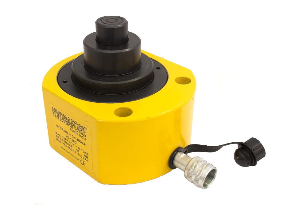 Többfokozatú alacsony hidraulikus munkahenger (100T, 68 mm)