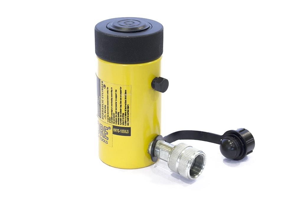 Egyszeres működésű biztosítóanyás hidraulikus munkahenger (10T, 50mm)