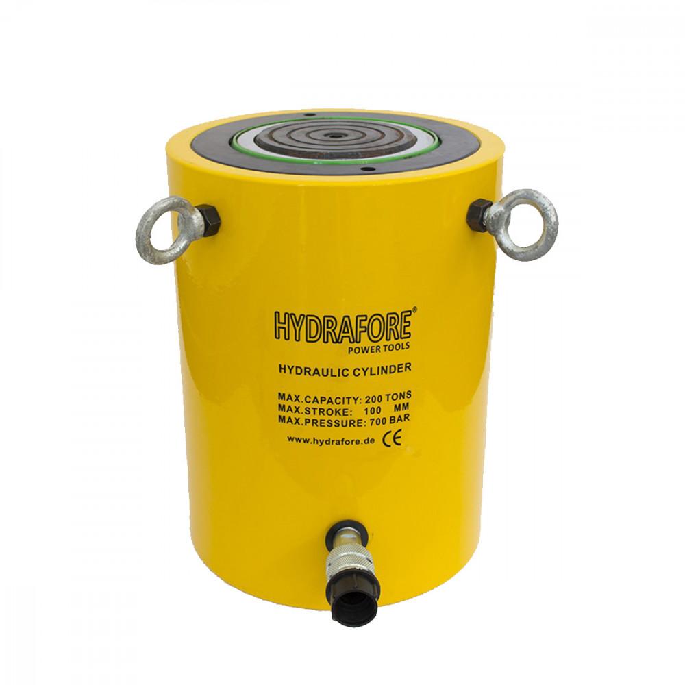 Egyszeres működésű általános hidraulikus munkahenger (200T, 100mm)