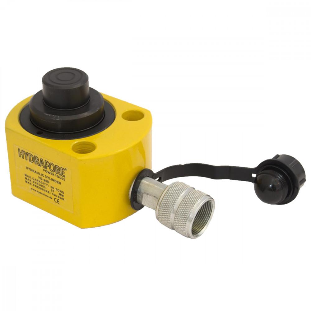 Többfokozatú alacsony hidraulikus munkahenger (20T, 27 mm)