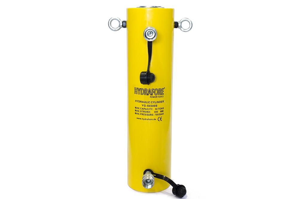 Kettős működésű hidraulikus munkahenger (50T, 300 mm)