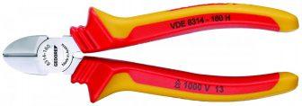 VDE oldalcsípő fogó köpenyes szigeteléssel (GEDORE VDE 8314-160 H)