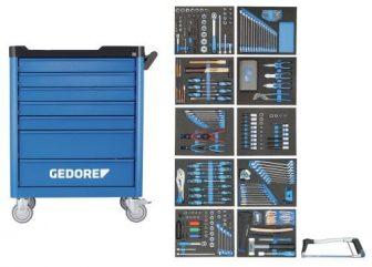 workster smartline szerszámkocsi 308 részes szerszámkészlettel (GEDORE WSL-L-TS-308)