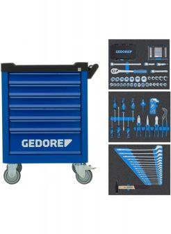 workster smartline BLACK EDITION szerszámkocsi 172 részes szerszámkészlettel (GEDORE WSL-M-TS-172)