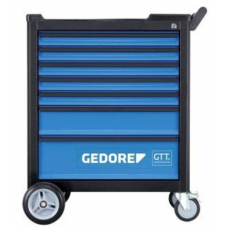 Gedore szerszámkocsi 7 fiókkal (üres) (GEDORE GTT B-7)