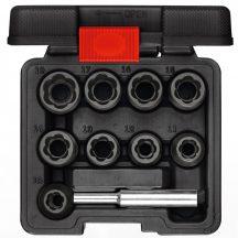 """Csavarkihajtó dugókulcs készlet 1/2"""", 10 részes (GEDORE R68003010)"""