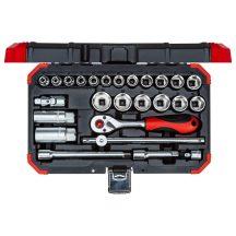 Dugókulcs készlet 3/8'' 6-24 mm 26 részes (GEDORE R59003026)