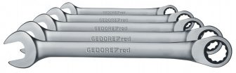 Racsnis csillag-villáskulcs készlet 8-19 mm 5 részes (GEDORE R07105005)