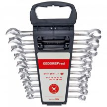 GedoreRed racsnis villás-fékcsőkulcs készlet 10-19 mm 10 részes (GEDORE R05905010)