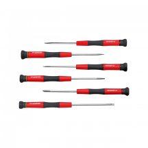 Műszerész csavarhúzó készlet lapos+PH 6 részes (GEDORE R38005906)