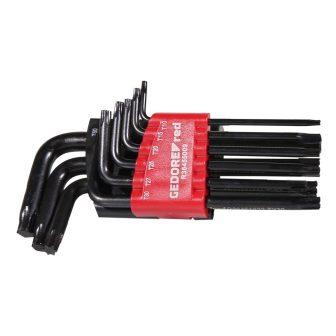 Torx csavarhúzó készlet TX T10-T50 9 részes (GEDORE R36405009)