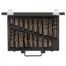 Fém csigafúró készlet hengerelt D 1-10 mm (170 részes) (GEDORE R93500170)