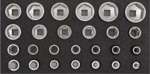 Dugókulcs készlet modulban 10-32 mm + IMBUSZ 26 részes (GEDORE R22150009)