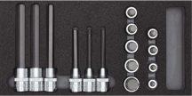 Dugókulcs készlet modulban IMBUSZ 5-17 mm 15 részes (GEDORE R22150011)