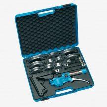 Kézi csőhajlító készlet, hidraulikus, 8 részes, 10-25mm-ig (GEDORE 245610)