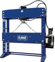 ELMAG WPMEH 100/2 XL típusú szélesített kivitelű elektrohidraulikus műhelyprés (81820)