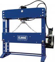 ELMAG WPMEH 160/2 XL típusú szélesített kivitelű elektrohidraulikus műhelyprés (81821)