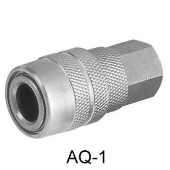 """Levegős gyorscsatlakozó, 1/4"""", US-típus, belső menetes (AQ-1)"""