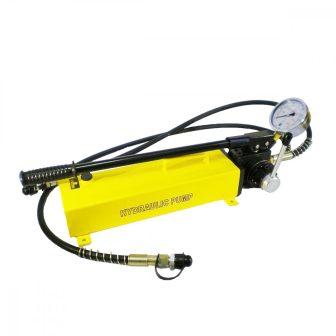 Kettős működésű kézi hajtású tápegység, hidraulikus pumpa (700 Bar - 3000 cm3) (B-700S)