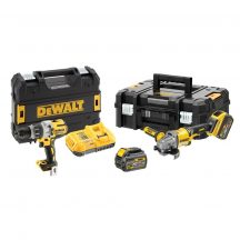 DEWALT Akkumulátoros gépszett TSTAK kofferben (2X5,0Ah/54V) (DCK2055T2T-QW)