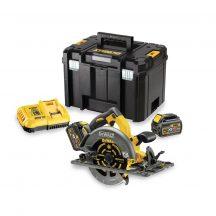 54V XR vezetősín kompatibilis Körfűrész 2 akkumulátorral felszerelve (DCS576T2-QW)