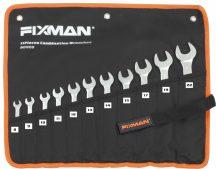 Villáskulcs készlet, 11 részes, 8-22mm (FIXMAN FX-B0908)