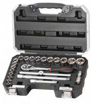"""Szerszámos koffer, Dugókulcs készlet, 25részes, 1/2"""" (FIXMAN FX-B4025M)"""