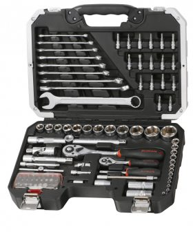 """Szerszámos koffer, 95 részes, 1/4"""" & 1/2"""" (FIXMAN FX-B5095M)"""