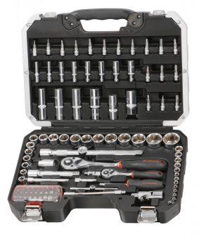 """Szerszámos koffer, Dugókulcs készlet, 106 részes, 1/4""""&1/2"""" (FIXMAN FX-B5106M)"""